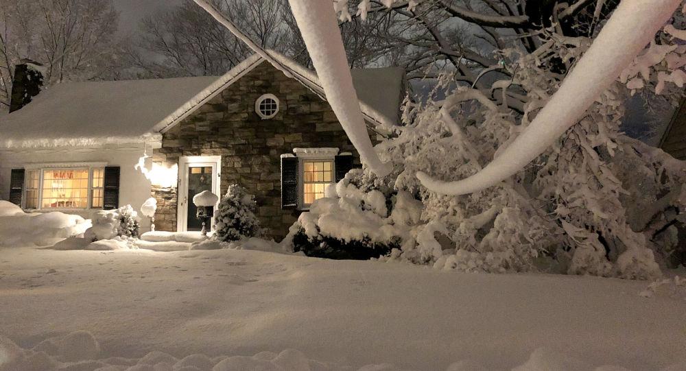 بارش برف،یک روز برفی