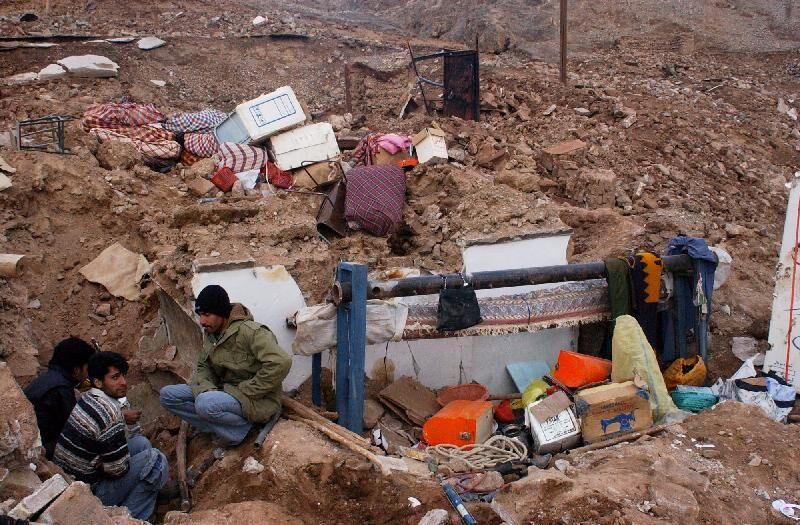 زلزله،تخریب