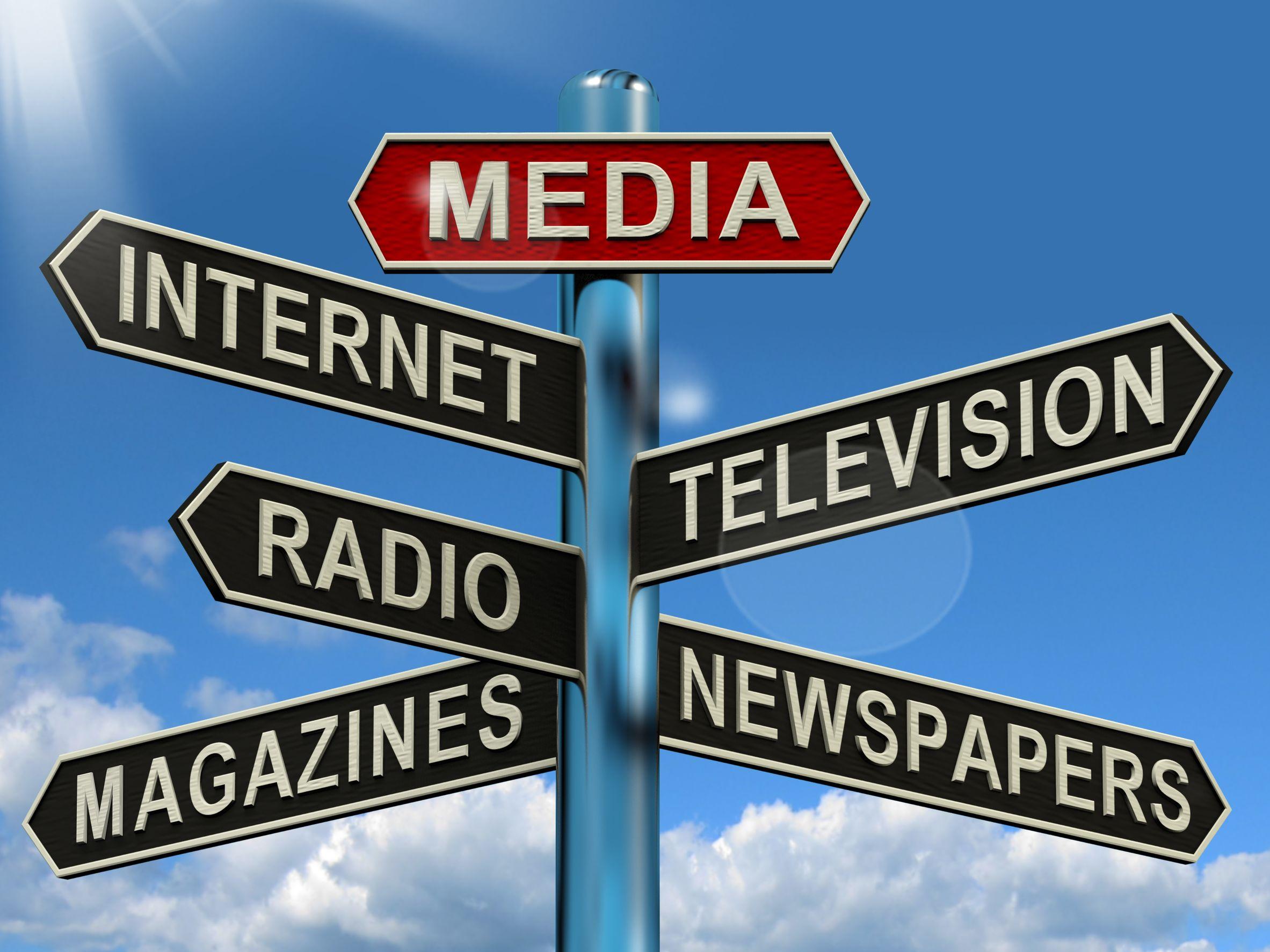 انواع رسانه