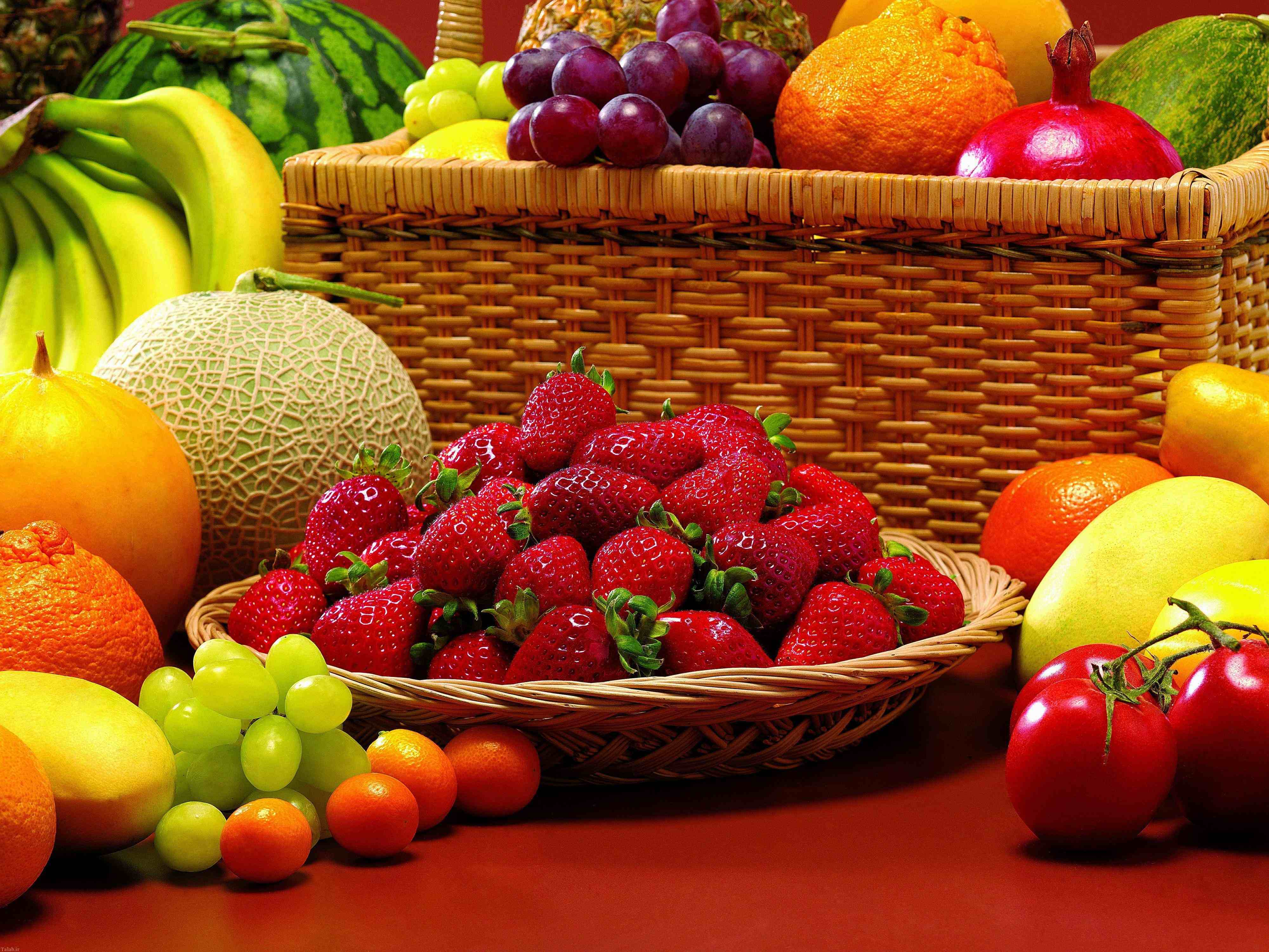 انشا درمورد میوه ها